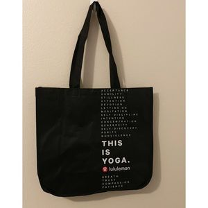 (2) NEW LuluLemon Recyclable Bags